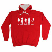 Prop Second Row Footballer Fairy Hoodie Football Rugby Funny Birthday Gift
