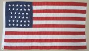 34 Star U.s. Barbara Fritchie Historical Outdoor Dyed Nylon Flag Grommet 3and039 X 5and039
