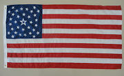 34 Star U.s. Martinsburg Pa Historical Indoor Outdoor Dyed Nylon Flag 3and039 X 5and039
