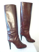 Boots Vintage Casting Bordeaux I. Bossi Italy T. 37