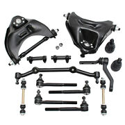 Front Control Arm Sway Bar Suspension Kit For Chevy Blazer S10 Gmc Sonoma 2wd