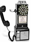 Wall Phone Retro Antique Payphone Gift Rotary Style Vintage Old Fashion Classic