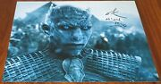 Richard Brake Signed 11x14 Game Of Thrones Character Name Night King Exact Proof