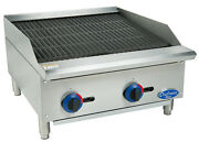 Globe C24cb-sr 24 Chefmate Counter-top Gas Charbroiler - Natural Gas