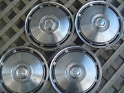 Ih International Pickup Truck Scout Travel All Hubcaps Wheel Covers Vintage