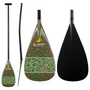 Zj Sport Discounted Carbon Outrigger Oc Paddle Bent Shaft With Graphic Design