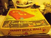 Vintage Marx Toys The Giant Skill Ball Game In Original Box Nice