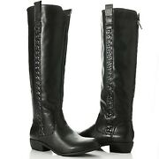 Mia Crossings Back Zip Knee High Riding Boots Nwob - Choose Your Color And Size