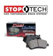 For Audi A3 Vw Eos Golf Gti Set Of Rear Left And Right Ceramic Brake Pads Stoptech