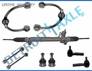Rack And Pinion Upper Control Arm Sway Bar Tierod Kit For Jeep Grand Cherokee