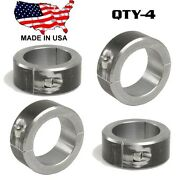 4 Clamp On 2 Blt Steel Dom Fabrication Clamp 2.25 Roll Bars Cages Tubing Weld On