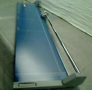 """Dahle D558 Professional 51"""" Rotary Paper Trimmer Rolling 558 12-sheet Cutter"""