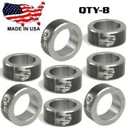 8 Clamp On 2 Bt Steel Dom Fabrication Clamp 1.875 Roll Bars Cage Tubing Weld On