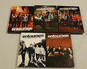 Entourage Dvd Seasons 1,2,3 Part 1,4 And 5 Used Complete
