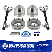 For 09-20 Dodge Ram 1500 3 Front + 2 Rear Leveling Lift Kit W/compressor Tool