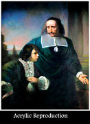 18th Century Masterpiece Headmaster And Pupil Reproduction