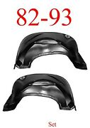 82 93 Chevy S10 Inner Fender Set Panel Gmc Rust Repair 1.2mm Thick Both Sides