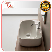 Lay On Washbasin With Tap Hole - Scarabeo Moon H18
