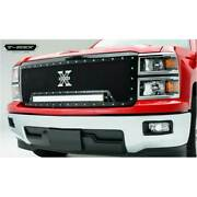 T-rex Black Torch 1-30 Led Full Opening Grille For Chevrolet Silverado 1500 14