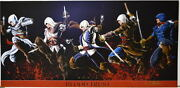 Assassins Creed - Blood Trust Panoramic Print Hand Signed Damon Bowie W Coa