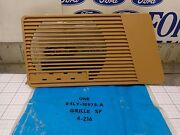 Ford Oem Nos E4ly-18978-c Rh Door Tan Speaker Grill Grille Cover Mark Vii 84-90
