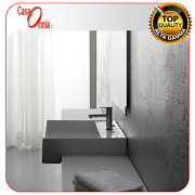 Semi Built-in Washbasin With Tap Hole - Scarabeo Teorema