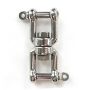 1/4 Jaw - Jaw 316 Stainless Steel Boat Anchor Connector Swivel 770 Lb