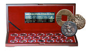 Ancient Coins Of The Silk Road Box Of 20 Bronze Of The Famed Silk Road W/ Coa