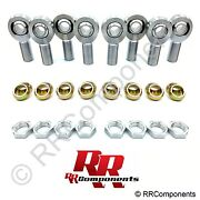 4-link 1-1/4 -12 Thread With A 1 Bore Chromoly Heim Joint W/jams And Cone Spacer