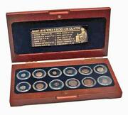 The Greek World Box Of 12 Bronze Coins From The Time Of Ancient Greece W/ Coa