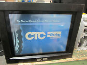 Ctc Parker P91-5na-1a0j-4a2 Hmi Touch Screen Display 120/240vac 80w Tested