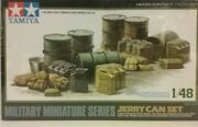 Tamiya 1/48 Scale Model Kit 32510 Ww2 German Jerry Can And Accessories Set