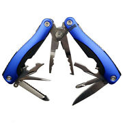 Multifunctional Stainless Steel Fishing Pliers Scissors Line Cutter Remove Hooks