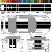 2005-09 Ford Mustang Eleanor Rally Racing Stripes 2006 07 08 2009 Decals Precut