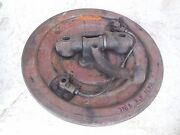 Porsche 356 B Front Drum Brake Backing Plate Right,p. Side+wheel Spindle Fl2