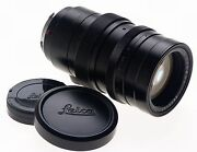 Summicron 2/90mm Black M Mount Leica Camera Lens F=90mm Clean Condition Fits M9