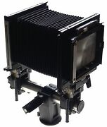 Sinar F Large Format 4x5 Bellows Monorail Black Film Camera No Lens Excellent Nr