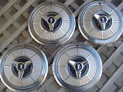 1965 Plymouth Fury Savor Gtx Rd Runner Belvedere Satellite Hubcaps Wheel Covers