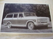 1974 International Travelall 11 X 17 Photo Picture