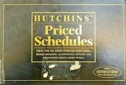 Priced Schedules 1996 By Hutchins Thomas Victor