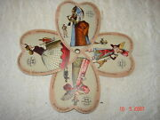 Buckeye Four Leafed Clover Fan C Aultman And Co Canton Oh The Girl Of The Period