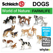 Schleich World Of Nature Farm Life Dogs Figures Animal Toys And Dogs Figurines