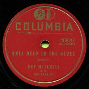 Guy Mitchell Knee Deep In The Blues / Take Me Back Baby Pop 78 Rpm Record