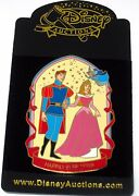 New Le 100 Disney Auction Pin✿ Sleeping Beauty Aurora Happily Ever After Phillip