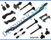 New 16pc Complete Front Suspension Kit For Gmc And Chevy Trucks - 2wd Only