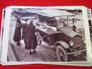 1919 Ford Modle T Touring Used As Food Vendors Car 11 X 17 Photo Picture