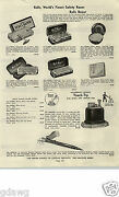 1938 Paper Ad Ronson Touch Tip Pencil Cigarette Lighter Rolls Razor Kaywoodie