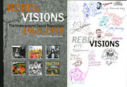 Rebel Visions Hc Signed Rbt Williams Bill Griffith Victor Moscoso Spain Jaxon