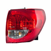 Fit Toyota Sequoia 2008-2017 Right Passenge Outer Taillight Tail Light Rear Lamp