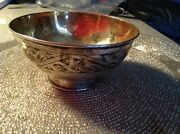 Russian Silver Gold Plated Cup W/ Ornaments 116g Stamped 875